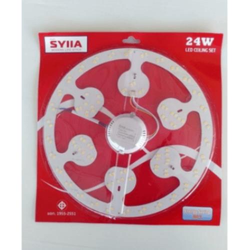 SYIIA หลอดแอลอีดีกลมคลาสสิค Clrcular 24W  เดย์ไลท์ HQ-24WGYB สีขาว