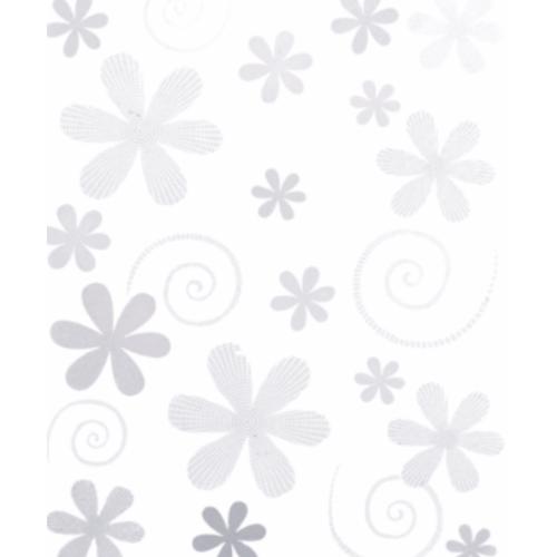 DURAGRES กระเบื้องปูผนัง-8x10 ออร่า-ไวท์ A. LS-111  ผิวเงา ( Glossy )