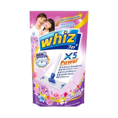 Whiz วิซถูพื้น ขนาด800ml.(เติม) 1106218 สีม่วง