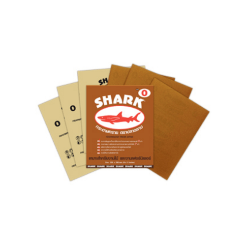 TOA Shark ปลาฉลามกระดาษทรายขัดแห้ง 9  # 0001