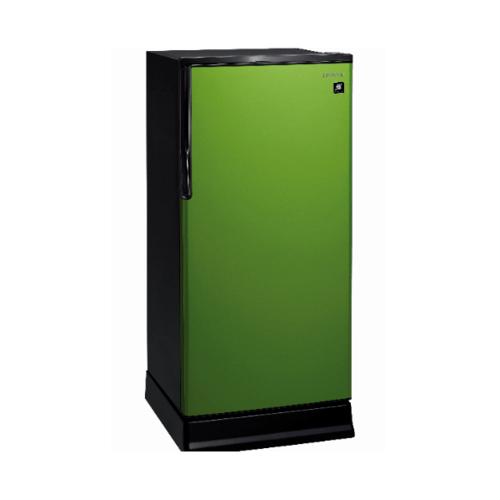 HITACHI ตู้เย็น 1 ประตู  ขนาด 6.6 คิว R-64W-PMG สีเขียว