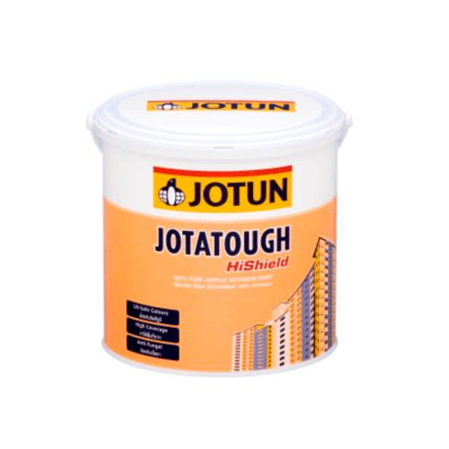 JOTUN สีทาภายนอก เบสบี ขนาด3.6 ลิตร JOTATOUGH HISHIELD MATT ขาว