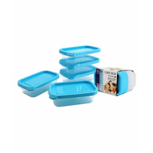 SUPER LOCK กล่องเชฟบ็อค 225 ml. (1แพ็ค5ชิ้น) 6071 คละสี