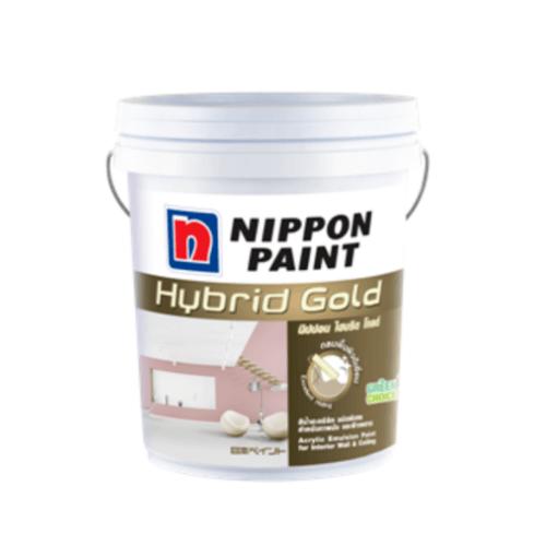 NIPPON สีน้ำภายใน-ด้าน Hybrid Gold   เทา