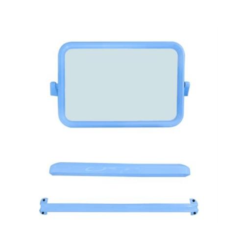 PIXO กระจกชุด3ชิ้นแบบเหลี่ยม MS07 ฟ้า