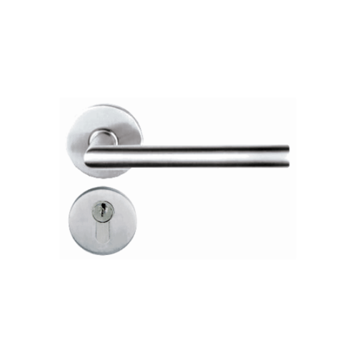 YALE กุญแจมือจับฝังในบาน YML-YK-SN001SS  สแตนเลสด้าน
