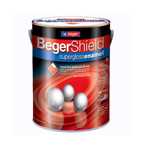 Beger สีรองพื้นกันสนิมเทา B-911 เบเยอร์ชิลด์