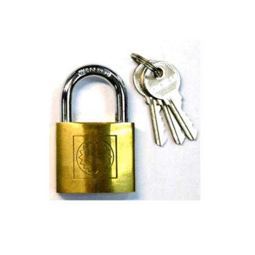 GOLDSEAL กุญแจ ขนาด 25 มม. - ทองเหลือง
