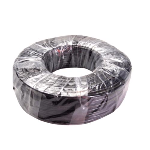 ท่อไมโครพีวีซี 4.8 / 6.6 มม.  x 100 ม. MT/PVC ดำ
