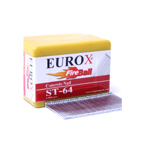 EUROX ตะปูมีหัวใช้ยิงคอนกรีต ST-25