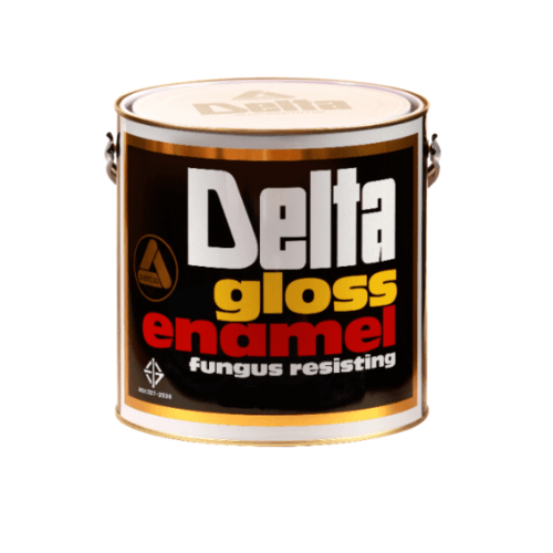 DELTA สีเคลือบน้ำมันเงา 701 เงิน