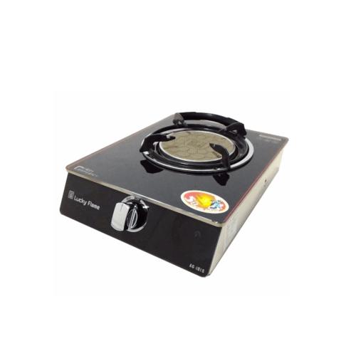Lucky Flame เตาแก๊สตั้งโต๊ะหน้ากระจก 1 หัวอินฟาเรด AG-101SI สีดำ