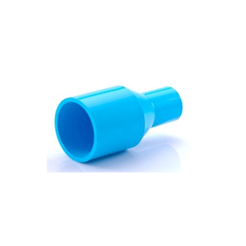 SCG ข้อต่อตรงลด หนา ฟ้า2.1/2นิ้วx1นิ้ว(65x25)
