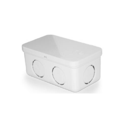 กล่องพักสายสี่เหลี่ยม 4x2   4x2 ขาว ขาว