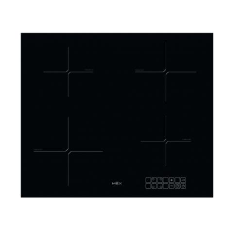 MEX เตาไฟฟ้าอินดักชั่นฐานกระจกเซรามิก 4 หัวเตา HIM364 สีดำ