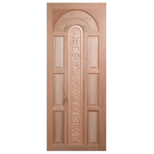 BEST ประตูไม้สยาแดง  ขนาด 90x200 cm. GC-70