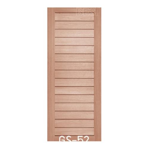 BEST ประตูไม้สยาแดง ขนาด 80x200 ซม. GS-52