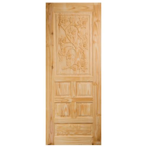 BEST ประตูไม้สน  ขนาด 100x200 cm. GC-34
