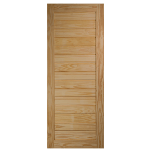 BEST ประตูไม้สน  ขนาด 115x205 cm. GS-52