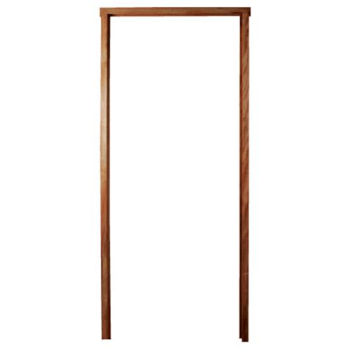 BEST วงกบประตูไม้เนื้อแข็ง  ขนาด 80x220 cm.