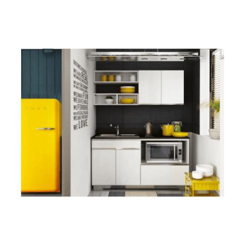 KITZCHO ชุดครัวสำเร็จรูป Zense ขนาด 1.64M.  Set.A ZER-C-FT-0A164-WH  สีขาว