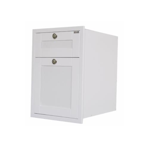 KITZCHO ตู้ลิ้นชัก2ชั้นอีซี่ KEC-ZOR-S-D2-6040X-WH สีขาว