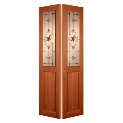 MAZTERDOOR ประตูกระจกสยาแดง    ขนาด  45x200cm. SL- 01/2