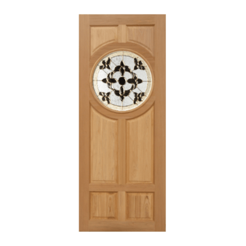 MAZTERDOOR ประตูกระจกนาตาเซีย DAISY(ทึบ) ขนาด 80x210 cm. -