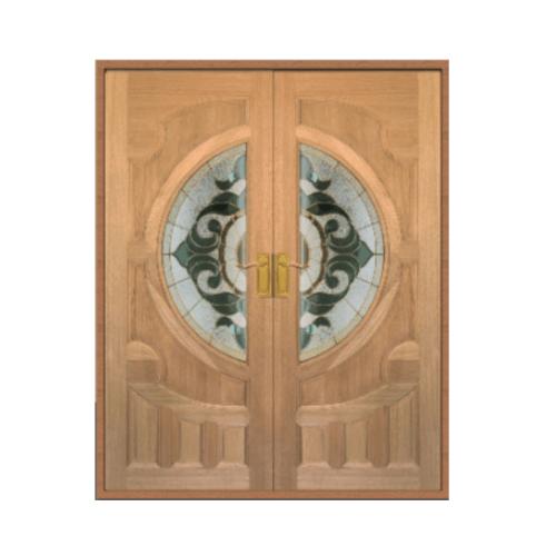 Masterdoors ประตูจาปาร์การ์ ขนาด 200x200 cm. VANDA-01  ธรรมชาติ