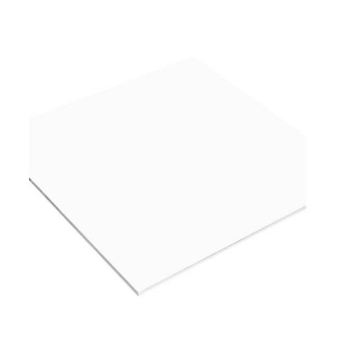 Dura one แผ่นยิปซัมดูร่าขอบเรียบ  60x60x0.8  สีขาว