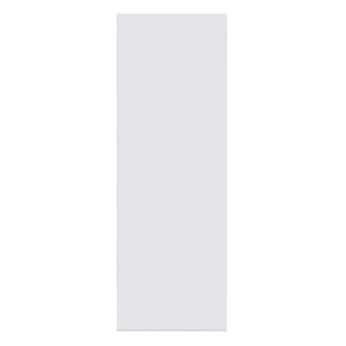 BATHIC ประตูพีวีซี  ขนาด 80x200 ซม. (เจาะ)  BC1 สีขาว