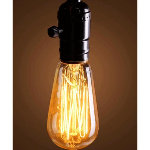 ELON หลอดไฟเอดิสัน ขนาด 6.4x6.4x14.2cm. GY-58