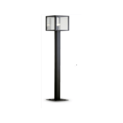 EILON โคมไฟสนาม RH1858P-L Classic สีดำ