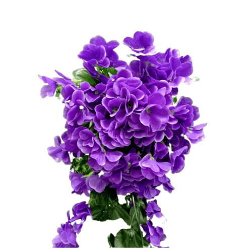 Local ดอกไม้ประดิษฐ์ตกแต่ง 67005-PR สีม่วง