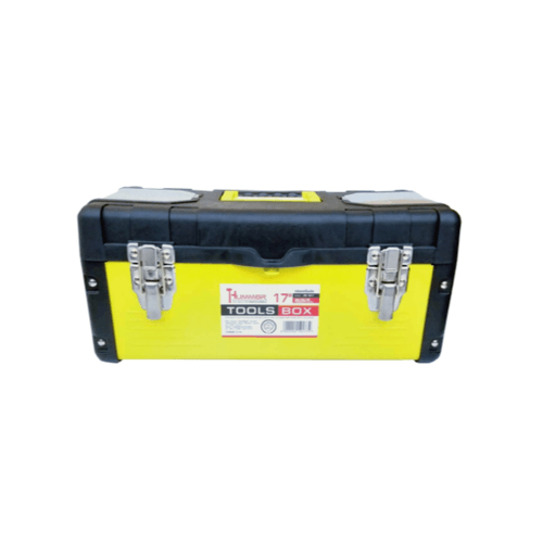 Tummer กล่องเครื่องมือสีเหลืองขนาด 17 นิ้ว JW-7017 สีเหลือง
