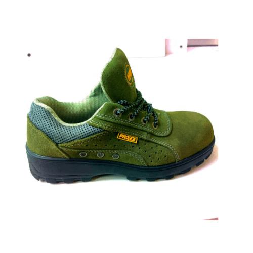 Protx รองเท้าเซฟตี้ #40 พื้น PU BA-128  สีเขียว