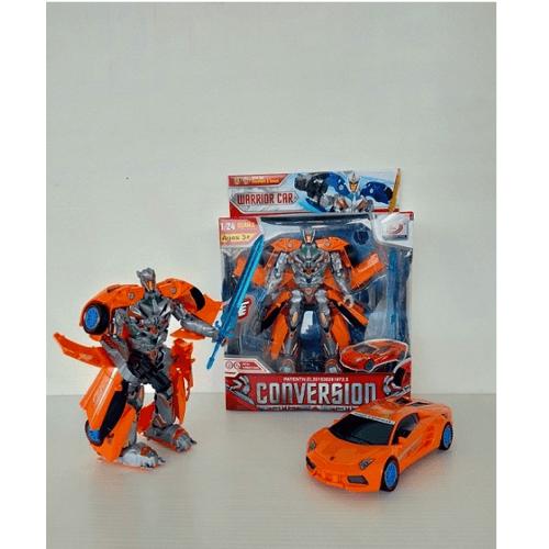 Sanook&Toys  ชุด Deformation vehicles  277800 สีส้ม