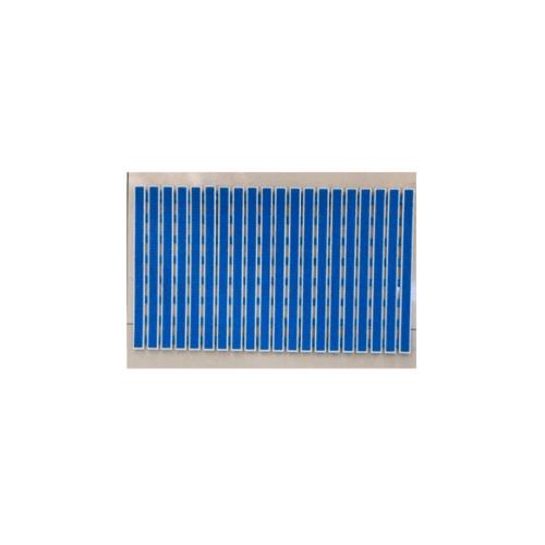COZY พรมกันลื่นระบายน้ำ  40 x70x 0.5 cm  JM008 สีน้ำเงิน