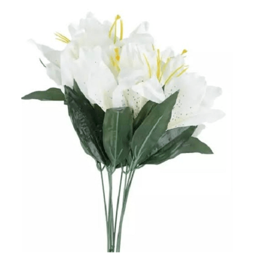 Tree O ดอกไม้ประดิษฐ์ตกแต่ง ็ฺHB011 สีขาว