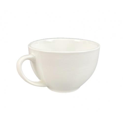KUP แก้วเซรามิค 6ซม. 220ml. O-Chaa สีขาว