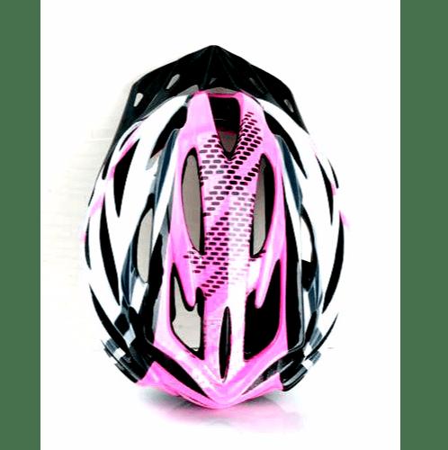 MASDECO หมวกจักรยาน ขนาด 58-62 CM Size L  LW-815D สีขาว