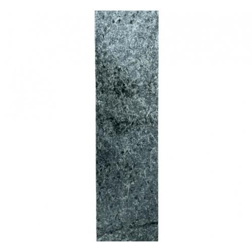 หินธรรมชาติ 5x20 กระเบื้อง หินดาร์กซิลเวอร์ ผิวธรรมชาติ NSD-NQ015 หินธรรมชาติ ดำ-เทา