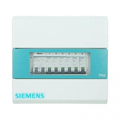 SIEMENS เครื่องตัดไฟอัตโนมัติ 6 ช่อง + Main 50A  (ธรรมดา)