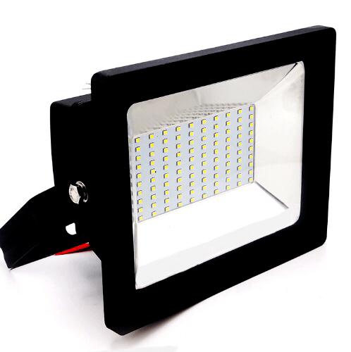 EILON โคมไฟฟลัดไลท์ LED 100W LZYS010 IP67 สีดำ
