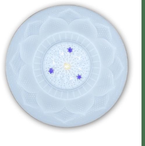 ELON ชุดเซ็ทโคมเพดาน LED HQ3507A-24W3+ 350MM 24 วัตต์ สีขาว