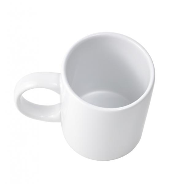 KUP แก้วเซรามิค 9.6ซม. 350ml. O-Chaa สีขาว