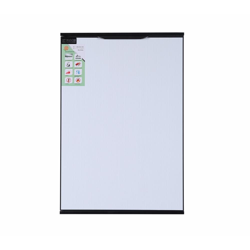 Koch Kitchen  บานซิ้งค์เดี่ยว ขนาด 44x62.5 ซม. WHITE PURO-SS สีขาว
