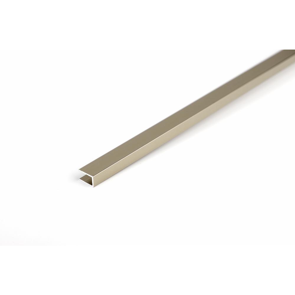 MAC  กรุยเชิงอลูมิเนียม 6.5 มม. ยาว 2 เมตร  2DDY024-G สีแชมเปญ
